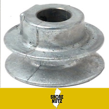 """Chicago Die Cast Single V Groove Pulley A Belt 2"""" OD X 1/2"""" Bore 200A5"""