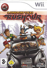 LONDON TAXI RUSHOUR for Nintendo Wii - with box & manual - PAL