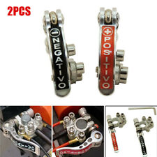2x Pure Copper Auto Battery Terminal Disconnect Switch Link Heavy Duty Universal