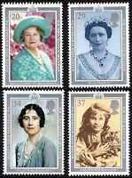 GB MNH STAMP SET 1990 90th Birthday of Queen Mother SG 1507-1510 UMM