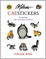 B. Kliban Catstickers Sticker Book by Pomegranate Book The Fast Free Shipping