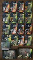 STAR WARS POTF 22 Figure Episode I Lot 1995-1999 Power Of The Force MIB Cantina