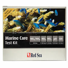 RED Sea Marine Custodia kit di test (ammoniaca, nitriti, nitrati, pH, ALK)