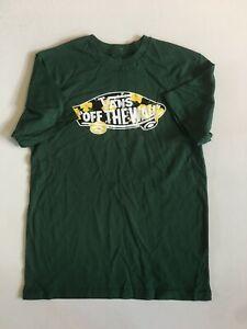 Vans New OTW Logo Fill Super Bloom Short Sleeve T-Shirt Boy's Medium 10-12