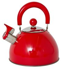 Retro Style 2.5L Whistling Boiling Kettle Cooking Electric Ceramic Gas Safe NEW