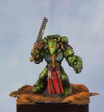 Warhammer 40k , salamander space marine , pro painted .