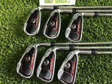 Taylormade Burner Plus Irons 4-9 Iron with Taylormade Uniflex Shafts (4825)