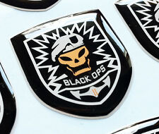 CALL OF DUTY BLACK OPS II 3D domed sticker badge 30 x 25mm.