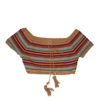 Dance & Marvel Striped Knit Crop Top size Small