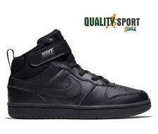 Nike Court Borough Mid 2 Nero Scarpe Shoes Bambino Sneakers CD7783 001 2020
