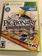 Pictionary -- Ultimate Edition (Microsoft Xbox 360, 2011) Complete, THQ