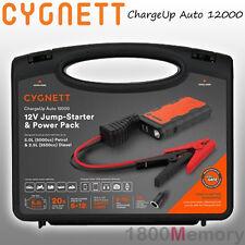 Cygnett ChargeUp Auto 12000 Car Jump Starter Power Bank Battery USB LED Flash