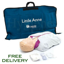 Laerdal Little Anne Adult CPR Training Manikin - White / Light Skin