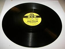 "CANTERBURY CHOIR ANGELS FROM THE REALMS OF GLORY / IT CAME UPON 10"" 78 MGM 30071"