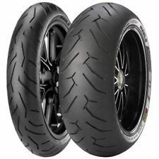 Coppia gomme moto Pirelli Diablo Rosso 2 120/70 ZR17 W + 180/55 ZR17 W dot 2020