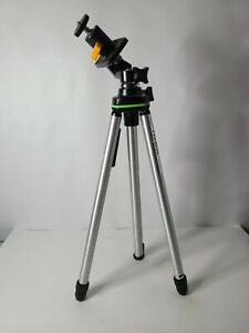 Velbon Lightweight Aluminium Photo / Video Camera Tripod Black Silver