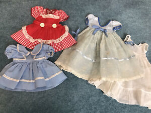 Lot Vintage Doll Clothes For 14inch Arranbee & Effanbee Hard Plastic Dolls