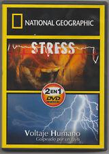 *National Geographic: Stress/ Voltaje Humano, Golpeado por un rayo (DVD)