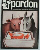 pardon die deutsche satirische Monatsschrift Dezember 1965 B-15571