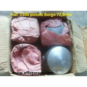 Fiat 1300 Pistons Borgo 72,8 Piston Original