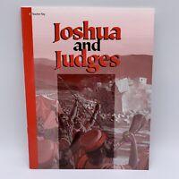 A Beka Joshua & Judges Bible 8th Grade Test Quizzes Teacher Key 2nd Edition