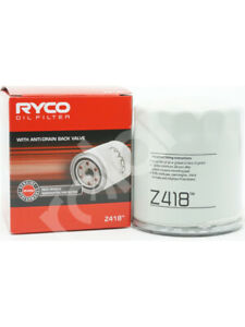 Ryco Oil Filter FOR SAAB 900 (Z418)