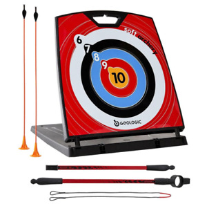 Geologic Soft Archery Set Kids Children Learning Stand Target Bow Arrow Garden