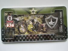 CAR LICENSE PLATE FRAME FASTNERS INC MOTORCYCLE DESIGN BY PAUL JR DESIGNS NEW
