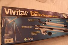 VIivatar Refractor Telescope  With Tripod 50x/100x New C3R
