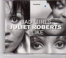 (FK326) Juliet Roberts, Bad Girls / I Like - 1998 CD