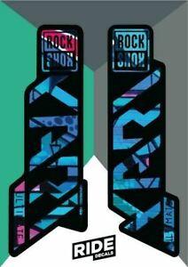 RockShox Yari Ultimate Decal Kit   Graffiti   2021