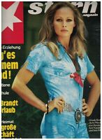 Stern Magazine January 11 1973 Ursula Andress Willy Brandt Yoga