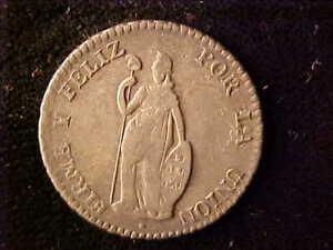 PERU ONE REAL 1856/5. MB