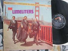 The Limeliters Our Men In San Francisco RCA Victor LPM 2609 UK Vinyl LP Album