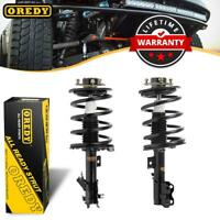 (2) Complete Struts & Springs w/ Mounts For Nissan Altima 4CYL 2.5L only 02-06