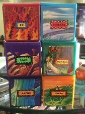 Disney & Burger King 1995 - Lion King Finger Puppets - Complete Set of 6