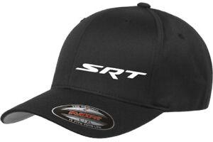Embroidered Dodge SRT Flexfit hats.