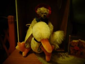 limited edition green tag hermann bear MOTHER GOOSE AND HER GANDER