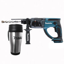 Makita BHR202Z BHR202 18v LXT Lithium-ion SDS Drill + free Makita Stainless Mug