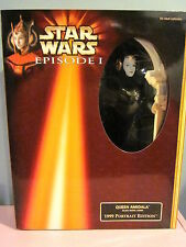 Star Wars Episode 1 Queen Amidala Padme Portrait 3 Dolls Lot Collector Doll 12""