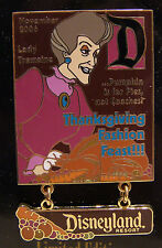 Thanksgiving 2006 Disney Pin Stepmother Lady Tremaine D Magazine Cinderella New