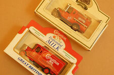 Rare Models of Promotion Red Carnation Truck and Red Walkers Vegetable Oil Truck