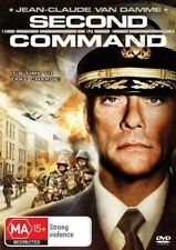 Second In Command-DVD VERY GOOD CONDITION FREE POSTAGE AUSTRALIA WIDE REGION 4