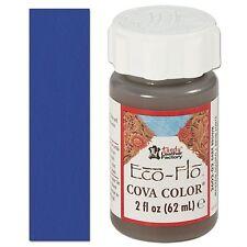 2 bottles of Eco-Flo Cova Color (2 oz/62 ml ea.) Royal Blue - FREE SHIPPING!