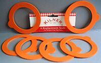 Kilner Clip Top Jar Replacement Rubber Seals pack of 6, Genuine Kilner brand