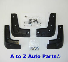 2015-2016 Hyundai Genesis 4dr Sedan Front & Rear Splash Guards / Mud Guards,OEM