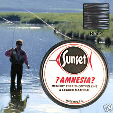 Amnesia Memory Free Fishing Line 60 Lb Black Ss08260 164 Ft Spool