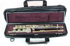 Yamaha YFL-462H Advanced Solid Silver Flute MINT CONDITION