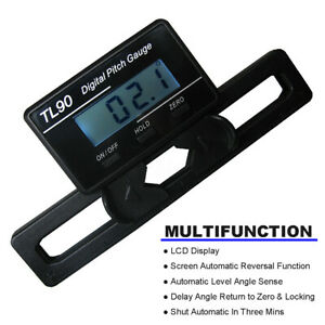 TL90 LCD Digital Pitch Gauge Measure Tool For ST250-800 Flybarless  @ oo
