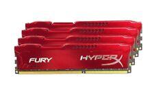 For Kingston HyperX 8GB 16GB 32GB PC3-14900 DDR3-1866MHz 1.5V Red Desktop Memory